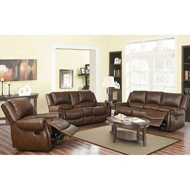 reclining sofa chair harvest reclining sofa loveseat and chair set sam s club