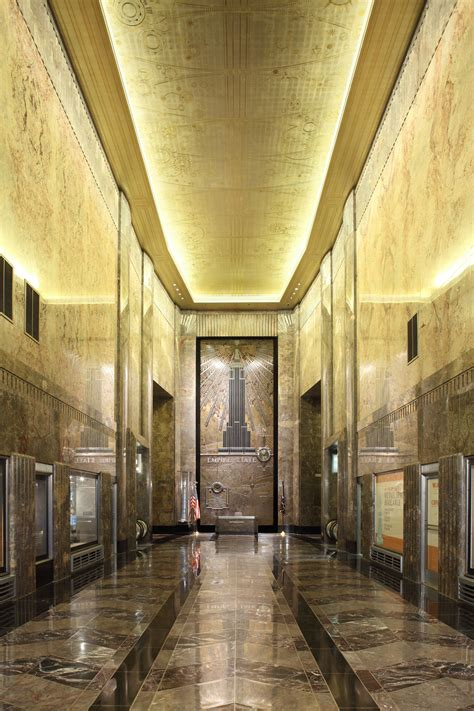 Building Foyer Fifth Avenue Lobby Empire State Building