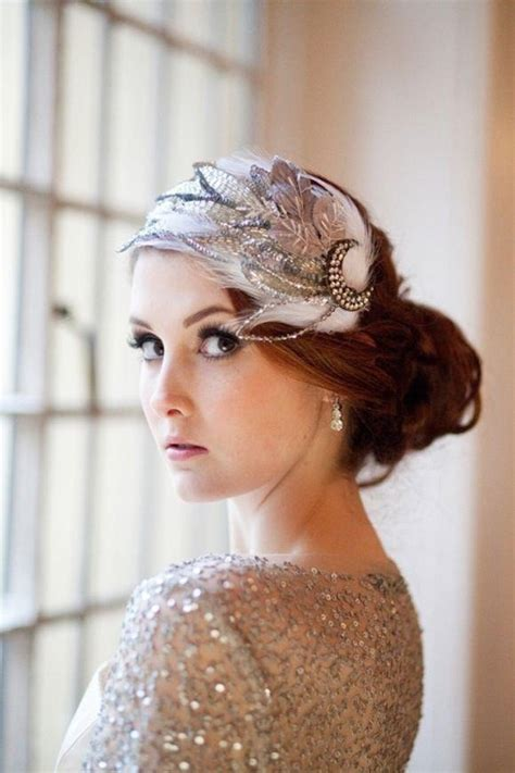 Wedding Hair Accessories Walmart by The Great Gatsby Wedding Inspiration Weddings Hair