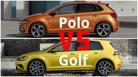 Volkswagen Polo Vs Golf by 2018 Volkswagen Polo Vs Volkswagen Golf