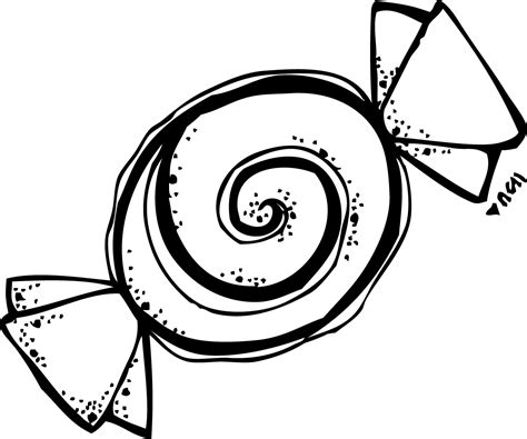 Gum Drop Outline by Gumdrop Black And White Clipart Clipart Suggest