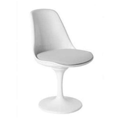 chaise pied tulipe fauteuil pivotant pied tulipe