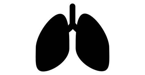 Home Design And Plans by Lungs Silhouette Free Medical Icons
