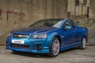 Chevrolet Sa In4ride Chevrolet Sa Updates Lumina And Ute V8