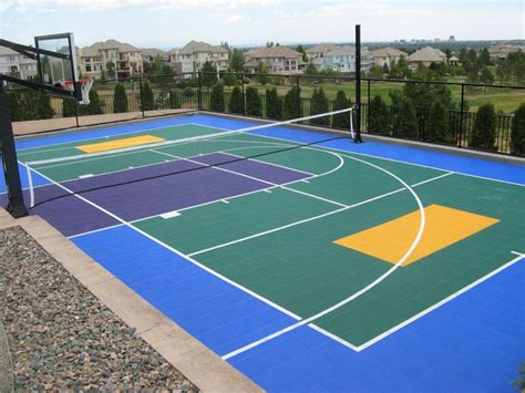 backyard sports court prices sport court pricing 100 backyard sports court prices sport court builders houst
