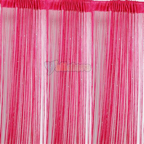 curtain thread 3pcs rose string door curtain thread curtains fringe panel