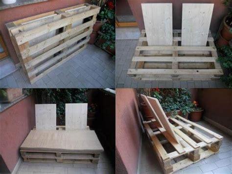 diy pallet sofa tutorial diy outdoor pallet sofa instructions 99 pallets