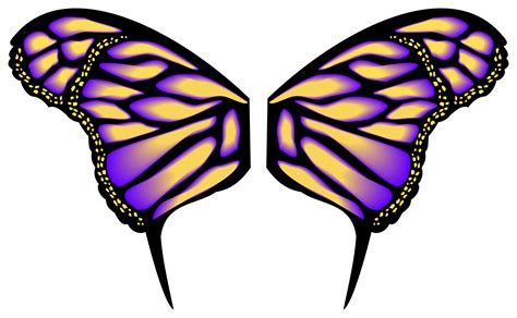 butterfly pattern png patterns on butterfly wings clipart best