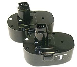 black decker cd18c 2 pack of 18 volt battery for black decker a9282 ps145