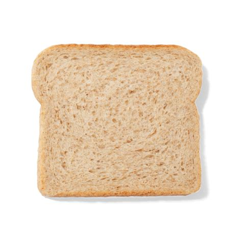 carbohydrates 1 slice bread white bread calories per slice