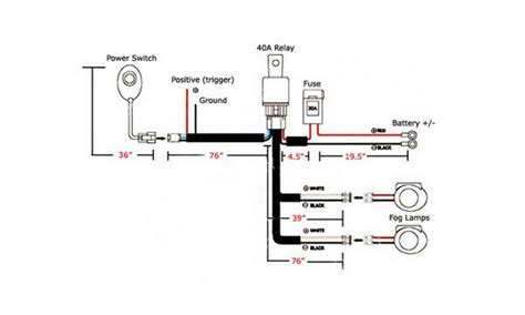 headlight wiring diagram on hella driving light relay