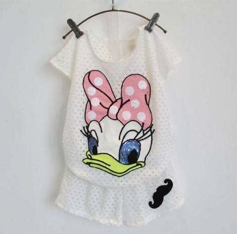 Setelan Flower White jual baju anak kecil yang imut dan lucu baju anak