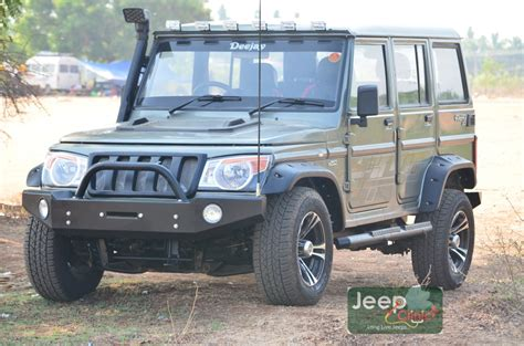 mahindra jeep thar modified bolero modification mahindra thar bolero customization