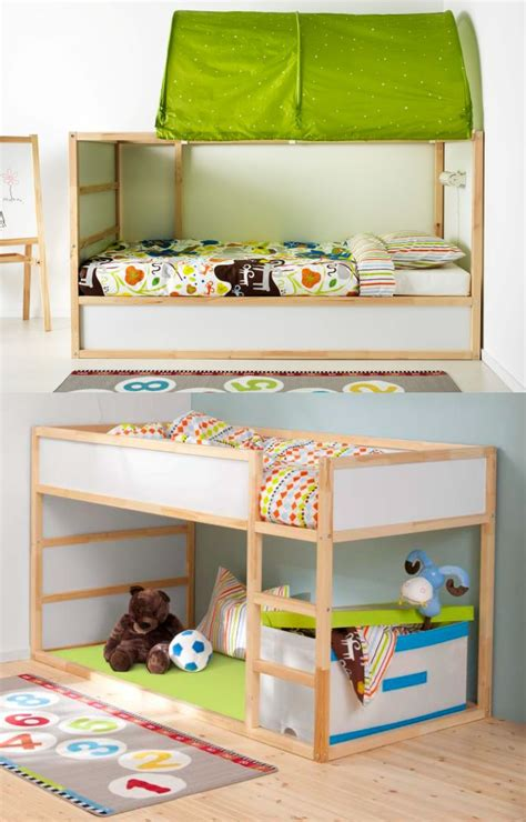 bunk bed with play area underneath 17 best images about kura bed on pinterest low beds