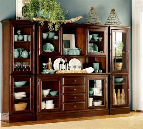 pottery barn china cabinet 11 best images about dining room hutch on pinterest