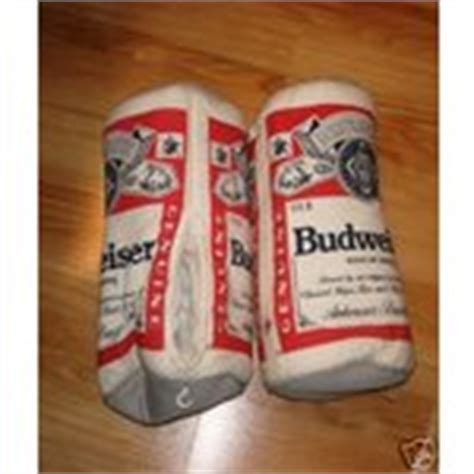 budweiser slippers budweiser bottle shaped slippers size xl 01 10 2008