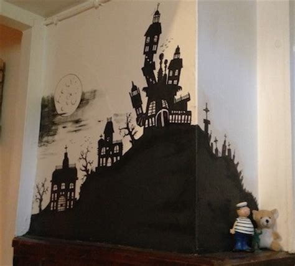 tim burton themed bedroom wall art designs awesome drawing tim burton wall art