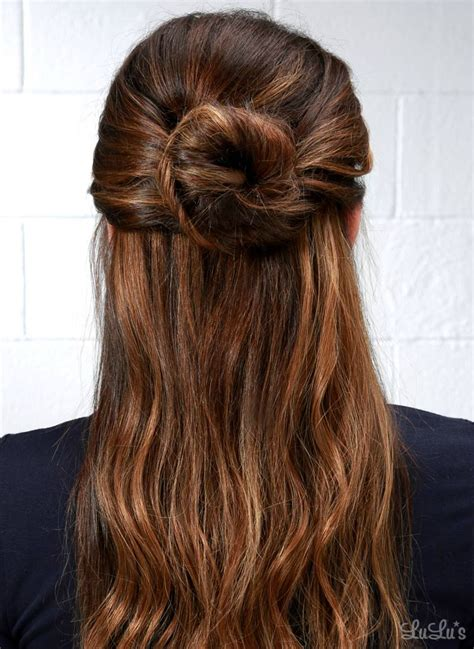 neat half up half down hairstyles 50 fun hairstyles to experiment with at home