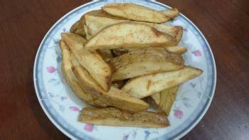 cara membuat kentang goreng wedges resep potato wedges praktis sederhana bahan bahan cara