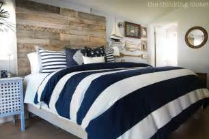 before amp after rustic nautical master bedroom makeover