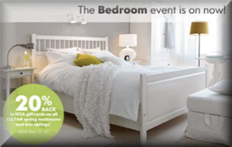Ikea Gift Card Online Canada - ikea bedroom event cash in your gift cards