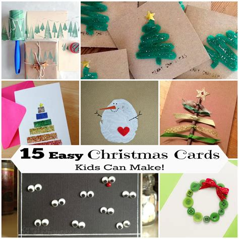 easy cards to make 15 diy cards can make letters from santa