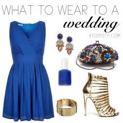 if i was your stylist what to wear to a wedding kyss my style
