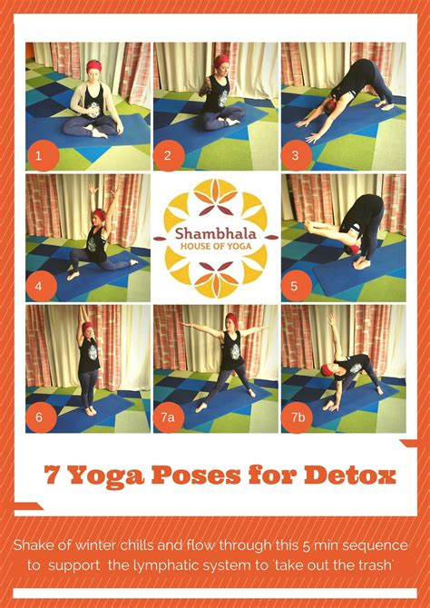 Detox Flow Sequence by Poses For Detox Kate Alexandra