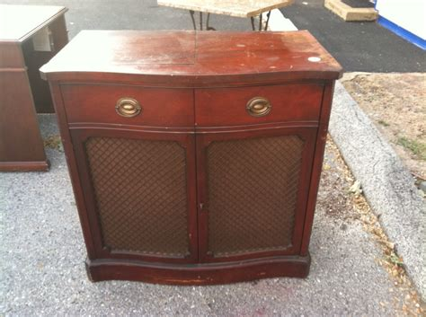 record player stereo cabinet drexel motorola cabinet record player radio vintage antique