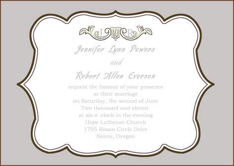 wedding invitation frames free invitation frame clipart 67