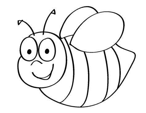 Coloring Page Of Bee by Bumble Bee Coloring