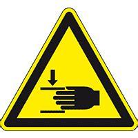 Baustellenschild Mit 100 M by Warnschild Handverletzung Asr Iso F 252 R Raue Untergr 252 Nde