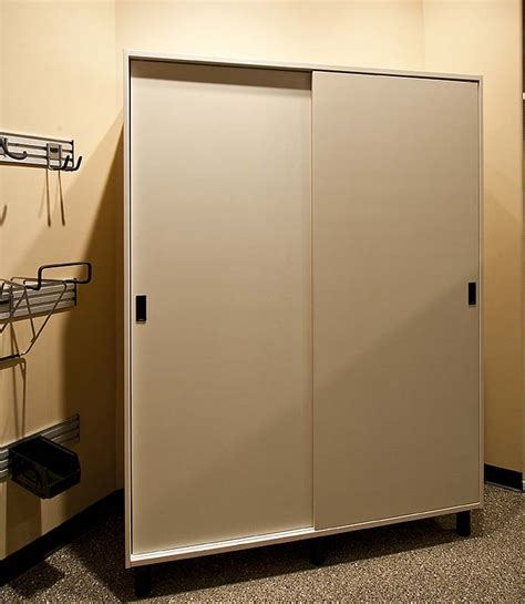 Building Storage Cabinets With Doors Build Garage Storage Cabinet With Sliding Doors Plans Free