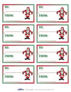 secret santa label template secret santa tags to print the knownledge