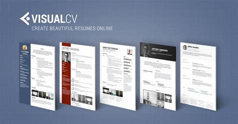 free visual resume templates real cv exles resume sles visual cv free sles