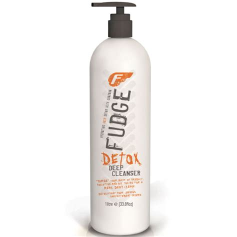 Hair Detox Shoo by Fudge Detox Shoo 1000ml Free Shipping Lookfantastic