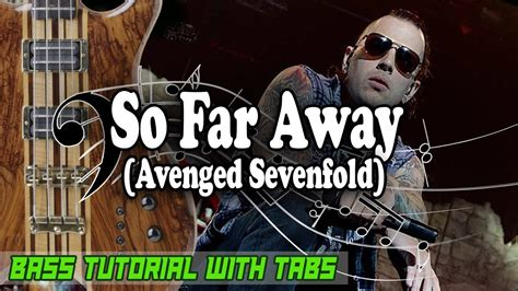 tutorial drum so far away avenged sevenfold so far away bass tutorial with tabs