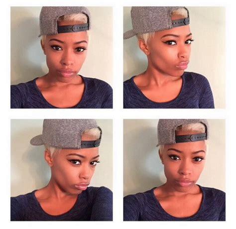 girl hairstyles with snapbacks hat beautiful make up black girls killin it black