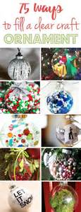 Handmade Filler Ideas - glasses and ornament on