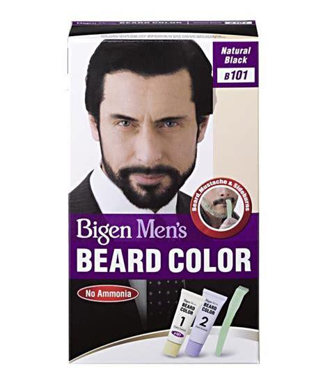 mens hair color products bigen s beard color b 101 black buy bigen