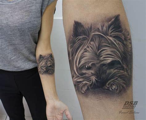 minimalist yorkie tattoo best 25 dog portrait tattoo ideas on pinterest pet