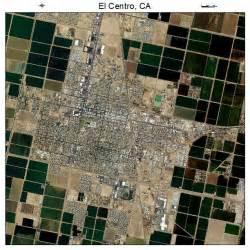 aerial photography map of el centro ca california