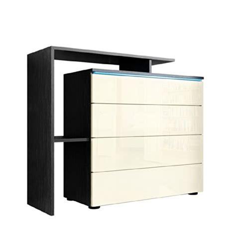 kommode sideboard schwarz kommode sideboard lissabon v2 in schwarz creme hochglanz