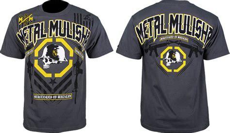 Tshirt Kaos Metal Gear metal mulisha fight gear t shirts