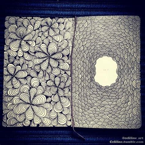 sketchbook zentangle simple zentangle doodle drawing moleskine