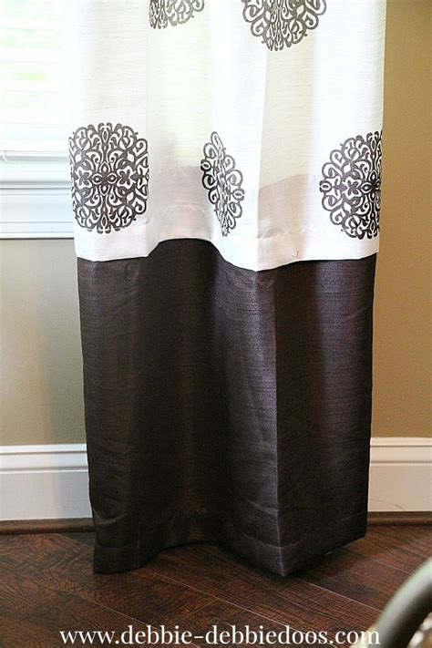 how to make drapes without sewing can t sew no worries debbiedoos