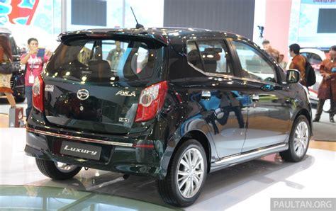 Bantal Mobil Daihatsu Ayla 20 daihatsu ayla gt luxury and x track concepts image 200230
