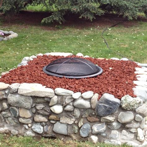 pit lava rock stones pin by jesica schliewe on outdoor living