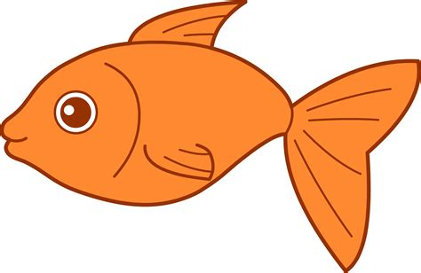 clip art happy goldfish design free clip art