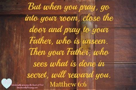 go to your room and pray matthew 6 6 when you pray storms